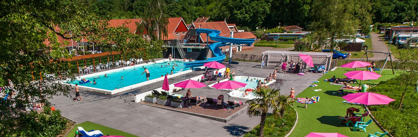 Campingplatz mit Schwimmbad