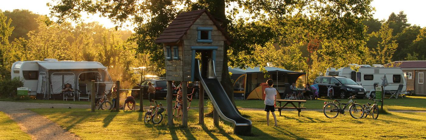 Spielplatz Campingplatz