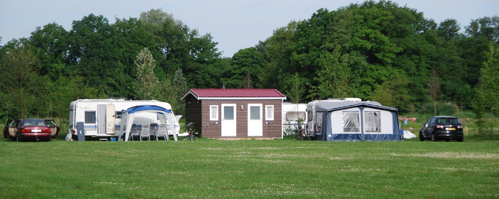 Camping met Privesanitair