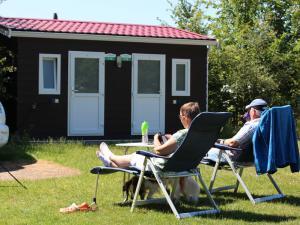 Camping mit Privatsanitär